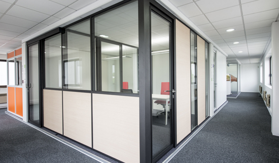 Removable partition aluminum planning office commercial space
